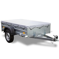Remorca auto 200 x 106, ușoară, Garden Traler 200 Unitrailer, masa totală maximă admisă de 750 kg