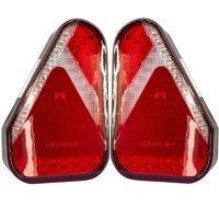 SET 2X: Lampă spate combinată Aspöck Earpoint LED cu 5 pini - STÂNGĂ+DREAPTĂ