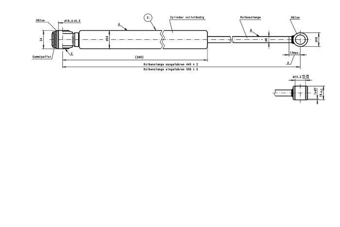 Amortizor pentru frâna inerțială AL-KO 101VB/90S
