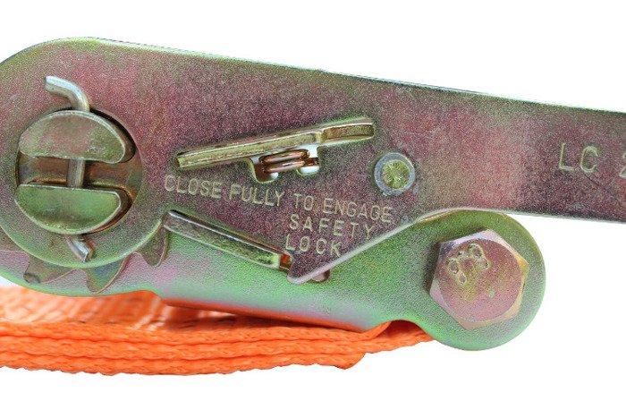 Chingă ancorare cu clichet 4 m/50 mm/5 t