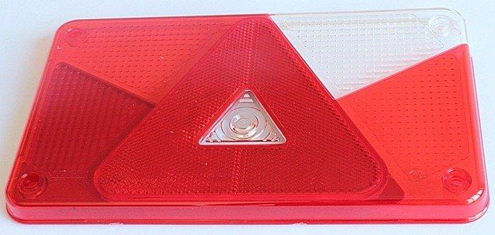 Dispersor pentru lampa spate Multipoint V dreaptă