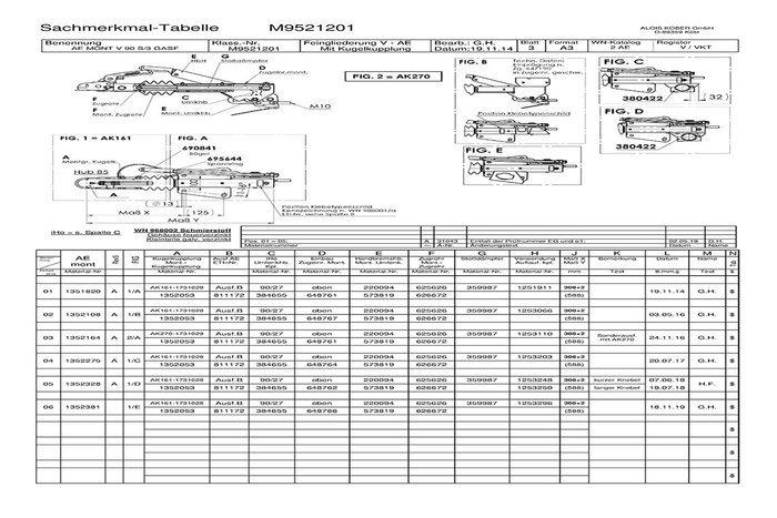 Frână inerțială pentru remorci AL-KO 1000 kg V 90S/3 AK 160