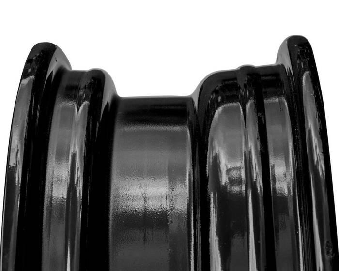 Jantă neagră din oțel întărită pentru remorci 5.5Jx13 5x112