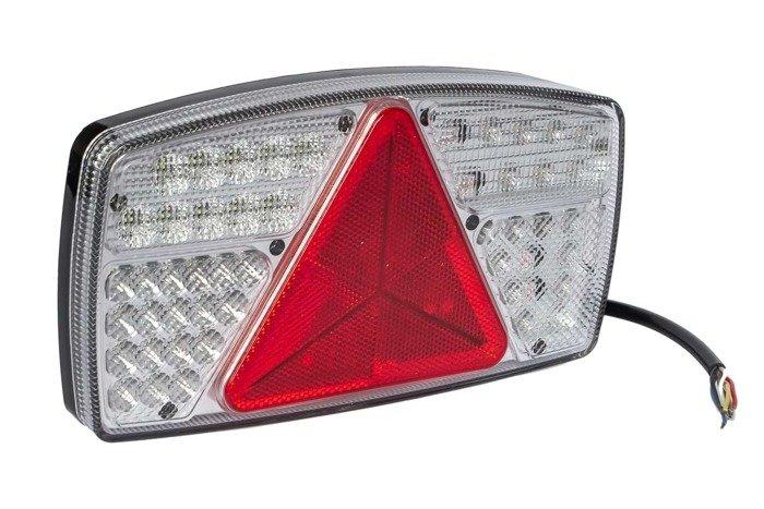Lampă combinată spate LED Fabrilcar by Aspöck, 7 funcționale, stânga