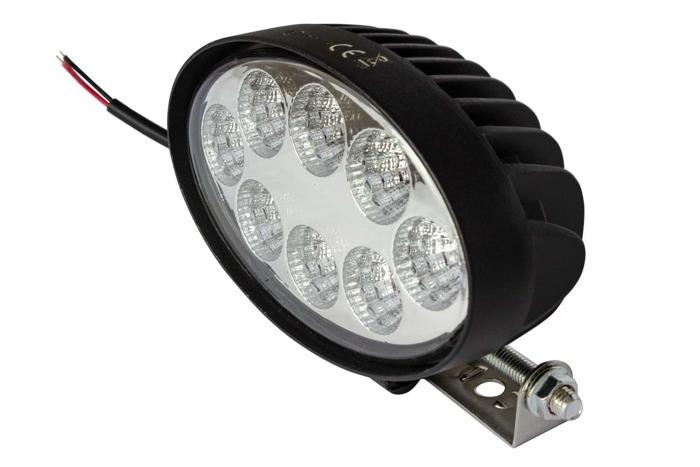 Lampă lucru ovală laterală 8 LED 1900 Lm