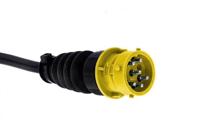 Lampă spate Aspöck Earpoint LED cu 8 pini - STÂNGĂ