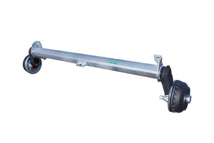 Osie cu frână pentru remorci AL-KO 1350 kg A:1260 C:1630 4x100