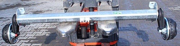 Osie cu frână pentru remorci auto AL-KO 1510 mm 1350 kg 5x112