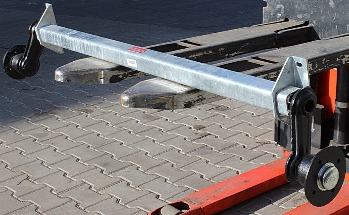 Osie fără frână pentru remorci auto KNOTT VG7 750 kg 1400 mm