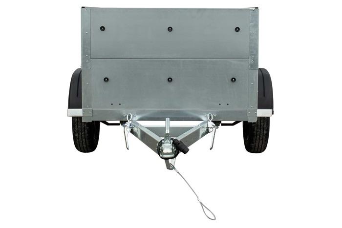 Remorca auto 150 x 106, ușoară, cu extenii obloane, Garden Traler 150 Unitrailer, masa totală maximă admisă de 750 kg