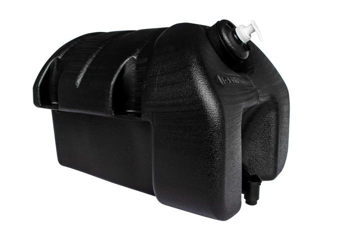 Rezervor de apă de 30 l cu dozator de săpun TAKLER - negru