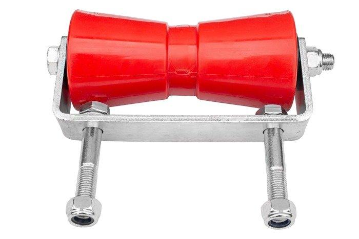Rolă roșie cu suport pentru peridoc - RDZ