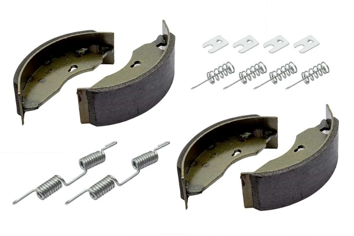 Saboți de frână axă AL-KO 160x40 cu set de arcuri UNITRAILER