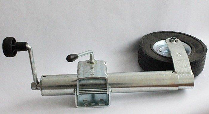 Set: Roată de sprijin pentru remorci auto ST 60-255 SB și clemă 60 Winterhoff