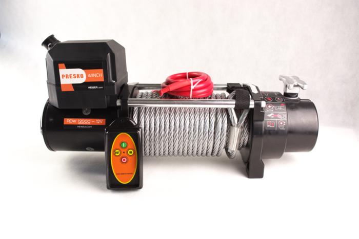Troliu electric Presko PEW12000 12V 5,5T